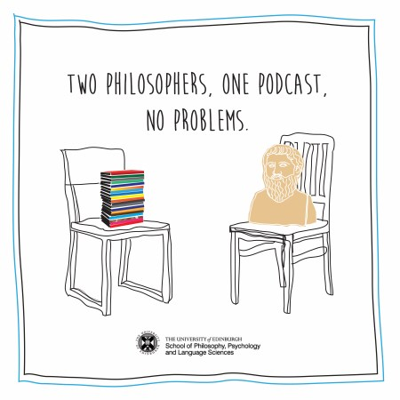 Two Philosophers, One Podcast, No Problems logo