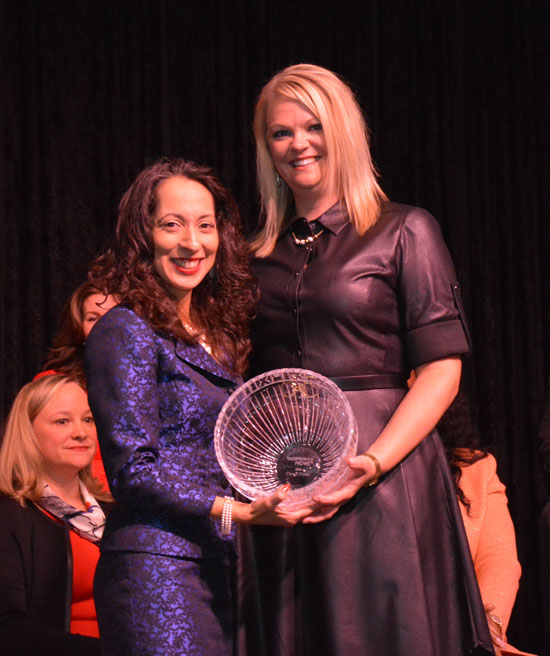 Woman on the Move  Honoree Carrie Potter