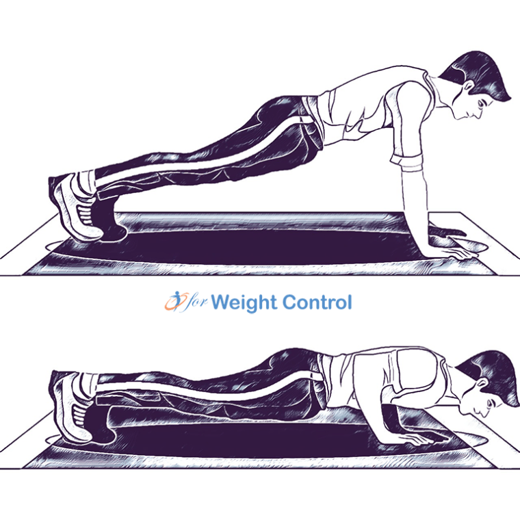 flat pushup - For Weight Control