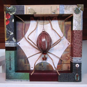 """Tangled Web"" Shadowbox"