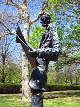 Joseph Pulitzer by Phillip Ratner on Liberty Island