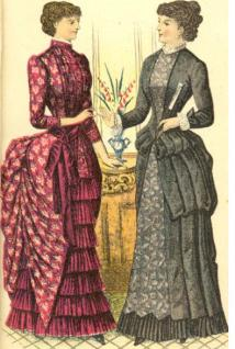 Godey Ladys Book 1883