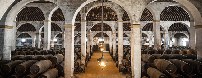 Cathedral-style winery of the Bodegas Lustau. Photo courtesy of Bodegas Lustau