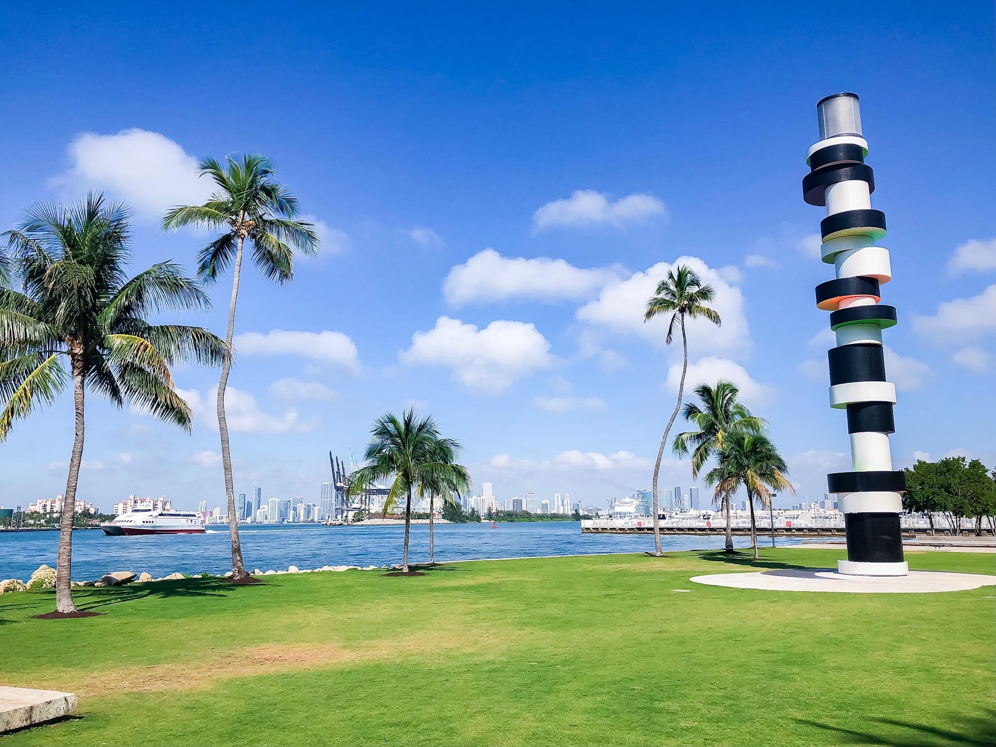 Rainy weather escape to Miami
