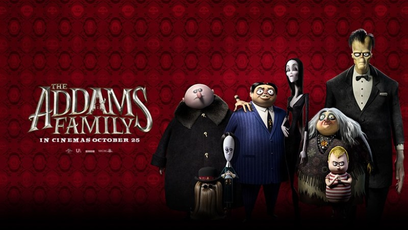 The Addams Family Quad