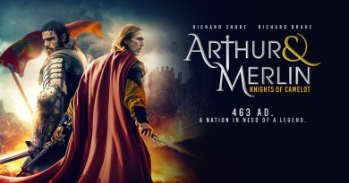 Arthur & Merlin: Knights of Camelot first trailer and images