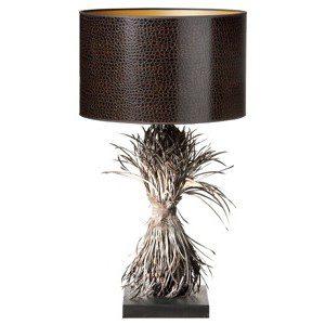 Tafellamp Fedder bruin