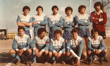 l'Ariano che chiude al terzo posto nel campionato Interregionale del 1983/84