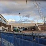 New railway bridge at Gipsy Patch Lane