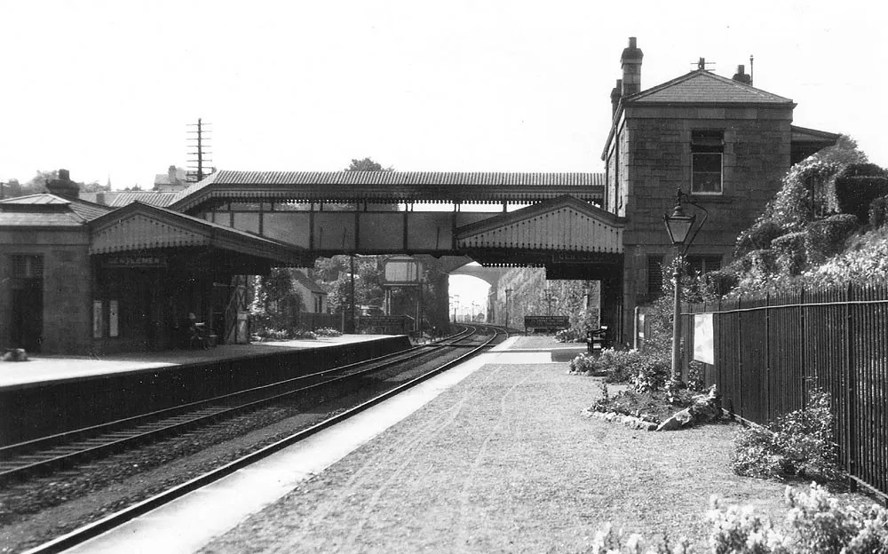 Original station at St Annes Park