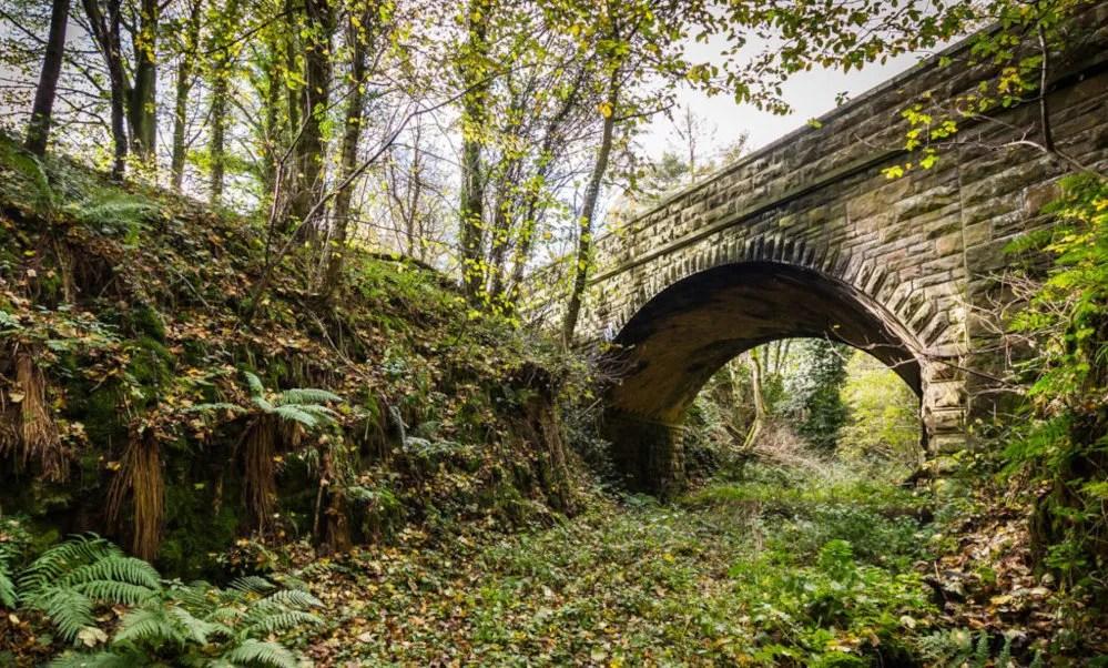 Old railway bridge at risk