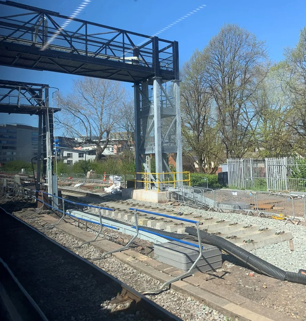 New track at Bristol East Junction - 22nd April 2021