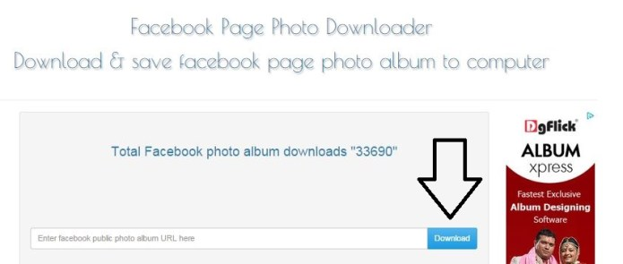 How To Download Complete Facebook Page Photo Albums In One Go