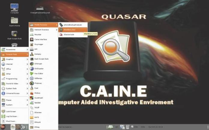 caine best hacking distro operating system