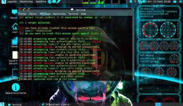 Perroquet Meilleur système de piratage informatique