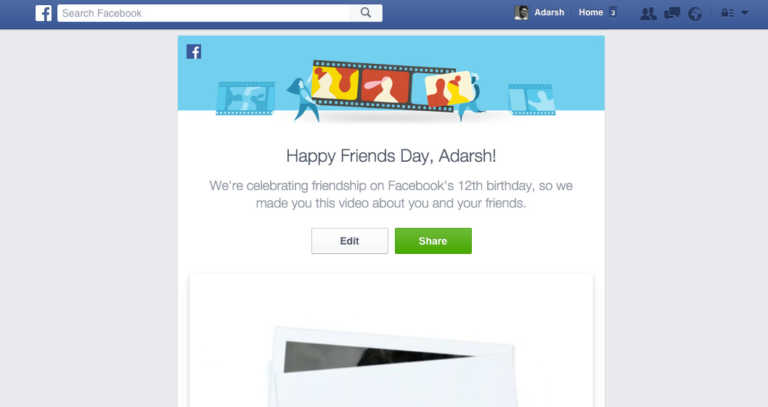 Facebook Celebrates Its 12th Birthday With Friends Day Videos Here S How To Make Your Own