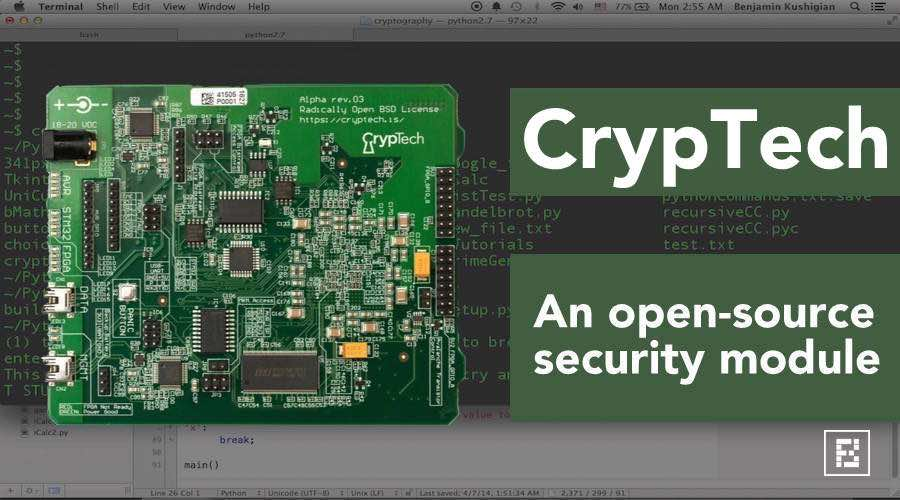 cryptech open source security module