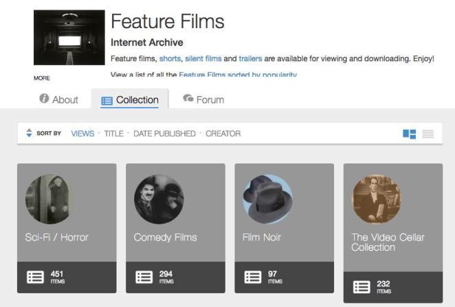 filmes gratuitos da Internet