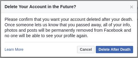 Hapus Akun Facebook setelah Kematian 2
