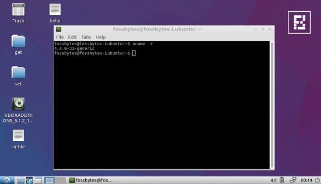 lubuntu-kernel-versiones