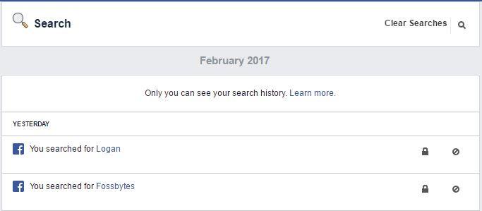 Delete Facebook Search 3
