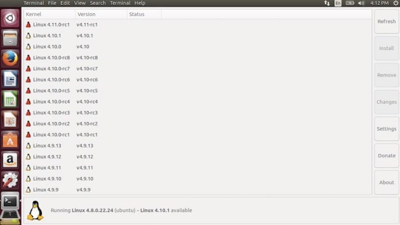 обновление ядра Ubuntu Linux до 4