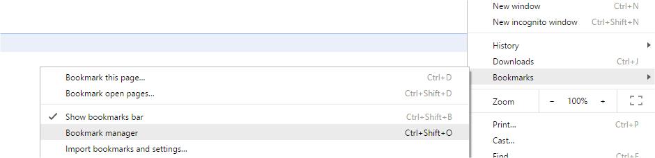 Chrome Bookmark Sync1