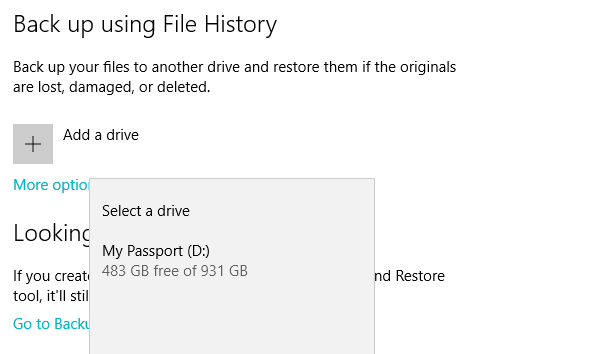FH2 Windows File History