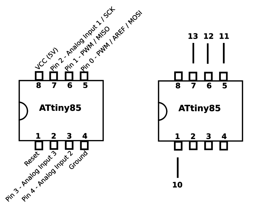 How To Turn Your Arduino Into An Isp Programming The Atmel Attiny85