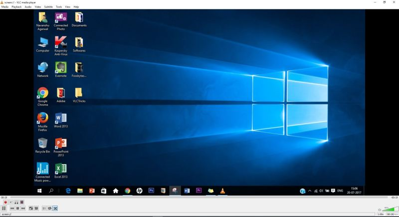 RecordDesktop-VLC Tricks