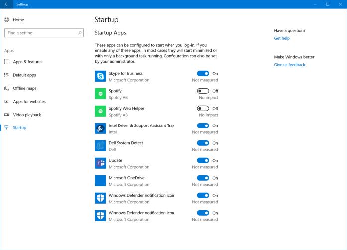 Pengaturan awal Windows 10 Build 17017