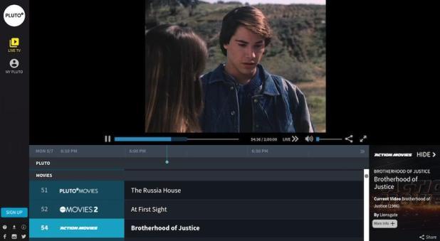 films gratuits en ligne pluton tv