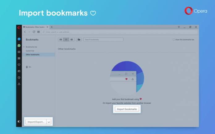 Import-bookmark-opera