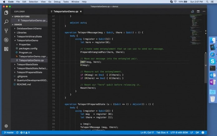 Quantum Pemrograman Language Microsoft untuk Di Linux dan Mac dirilis