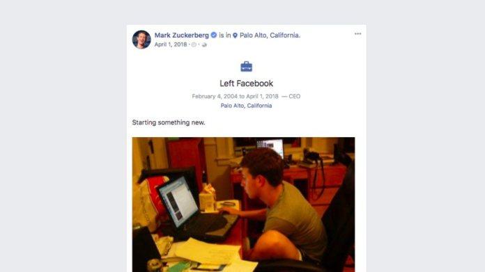 Heboh! Pendiri dan CEO Facebook Mark Zuckerberg Mengundurkan Diri