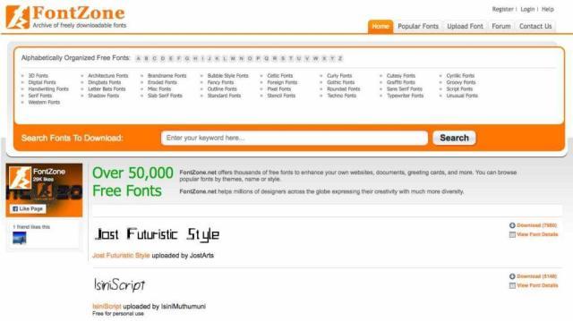 10 Situs Web Download Font Gratis Terbaik 2018