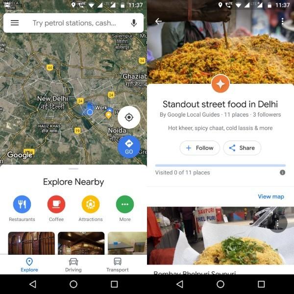 Google Maps Didesain Ulang: Berikut Fitur Barunya
