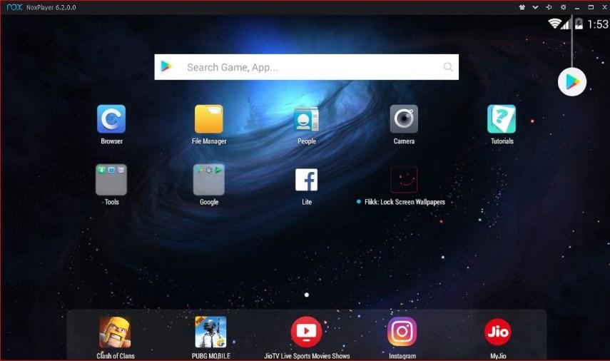 Android Emulator Terbaik - Nox App Player