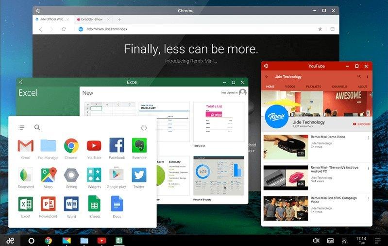 Android Emulator Terbaik - Remix OS
