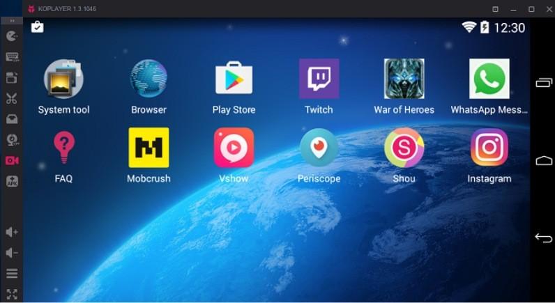 Top Android Emulator - KoPlayer