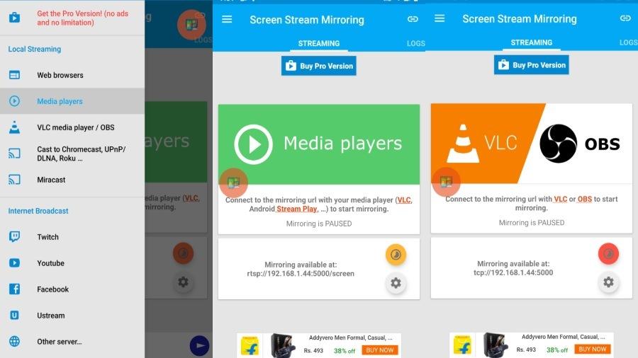Layar Streaming Mirroring Android -Mobzapp