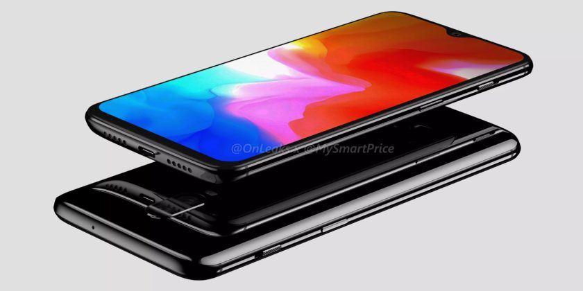 OnePlus 6T Rendor Image 2