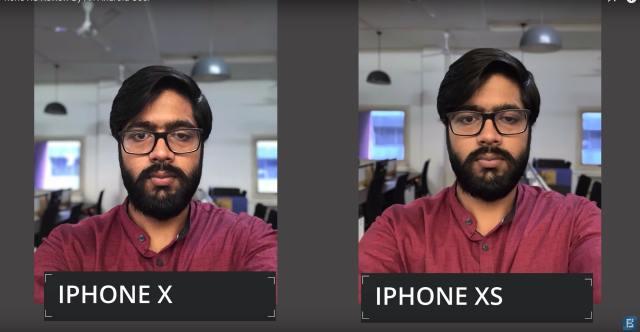 iphone x vs iphone xs portrait mode