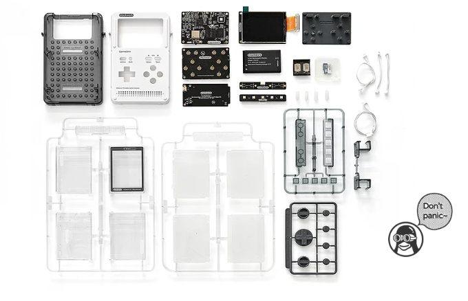 Konsol berbasis Linux berbasis GameShell: Board Baru, RAM 1GB, Port HDMI