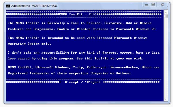Windows 10 Bloatware Removal tool EULA