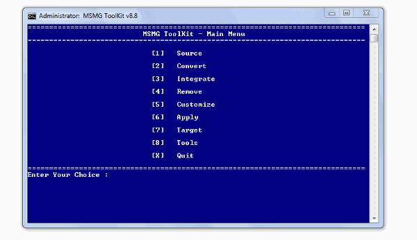 Windows 10 Bloatware Removal tool Main Menu