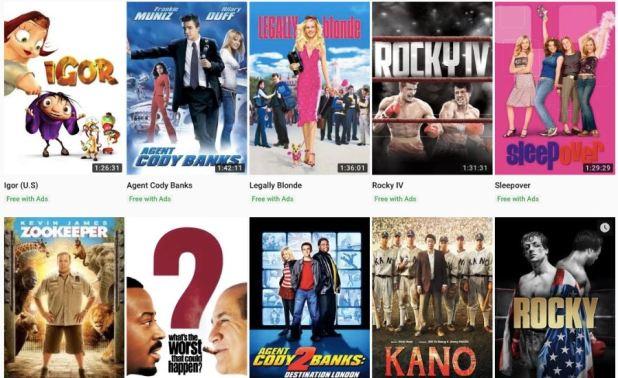 films gratuits youtube