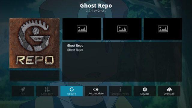 Ghost kodi repo