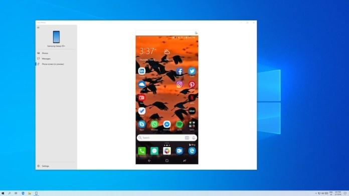 windows 10 aplikasi cermin layar ponsel